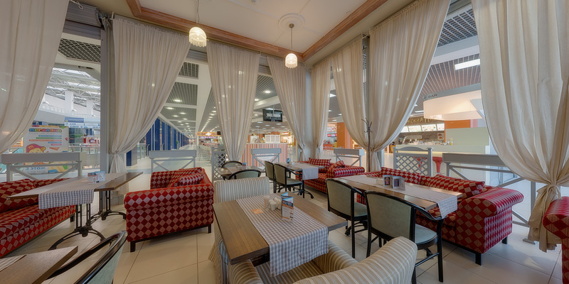 Restaurants holding ''Megapolis'' in the SEC ''Rodnik''